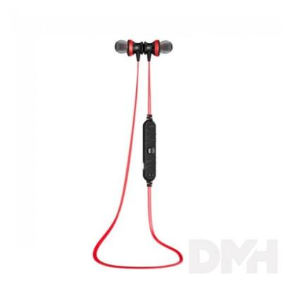 AWEI A980BL In-Ear Bluetooth piros fülhallgató headset