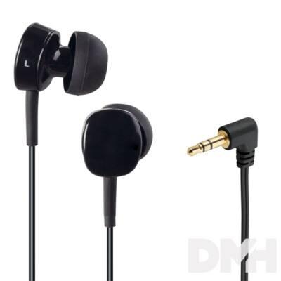 "Thomson 132621 ""EAR 3056"" In-Ear fekete fülhallgató headset"