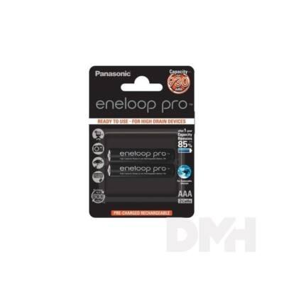 Panasonic Eneloop Pro AAA 930mAh mikro ceruza akkumulátor 2db/bliszter
