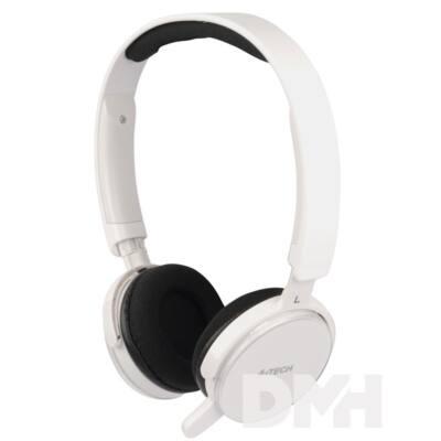 A4-Tech T-500 Personalize Me mikrofonos sztereo fehér headset