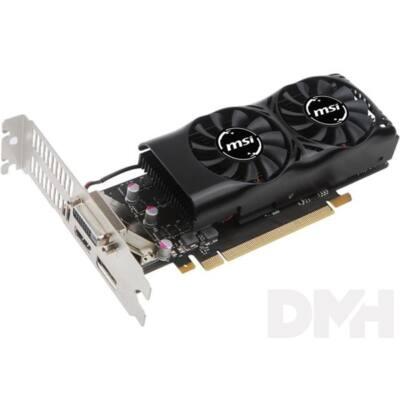 MSI GTX 1050 2GT LP nVidia 2GB GDDR5 128bit PCIe videokártya
