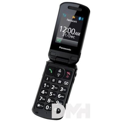 "Panasonic KX-TU329 senior 2,4"" fekete mobiltelefon"