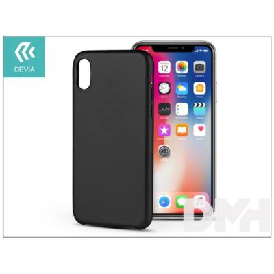 Devia ST305351 CEO 2 iPhone X fekete hátlap