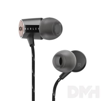 MARLEY EM-JE091-SB fekete fülhallgató headset