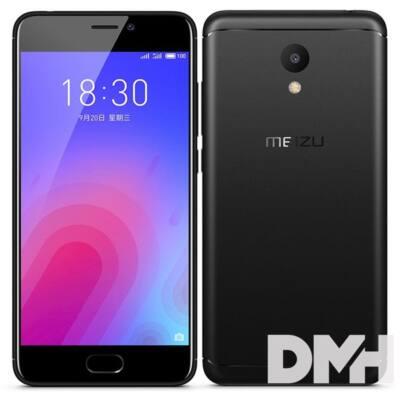 "Meizu M6 5,2"" LTE 32GB Dual SIM EU fekete okostelefon"
