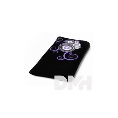 Max Mobile MAR026 Croco fekete lila XXL tok