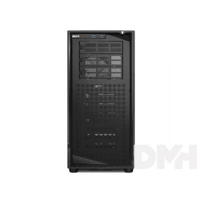 NZXT Source 530 Full Tower Fekete (Táp nélküli) ATX ház