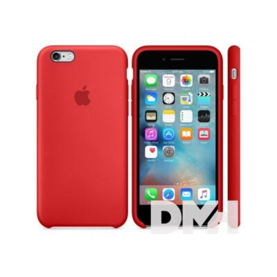 Apple iPhone6s szilikontok piros