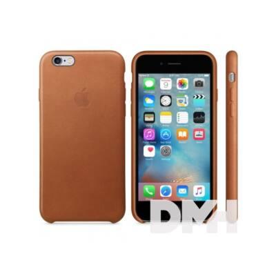 Apple iPhone6s Plus bőrtok vörösesbarna