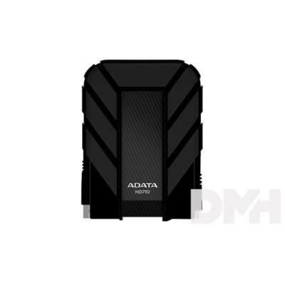"""ADATA AHD710 2,5"""" 1TB USB3.0 ütés és vízálló fekete külső winchester"""