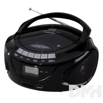 Navon NPB300 CD fekete Boombox