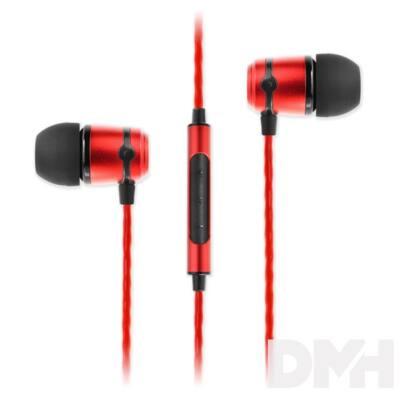 SoundMAGIC E50C In-Ear piros fülhallgató headset