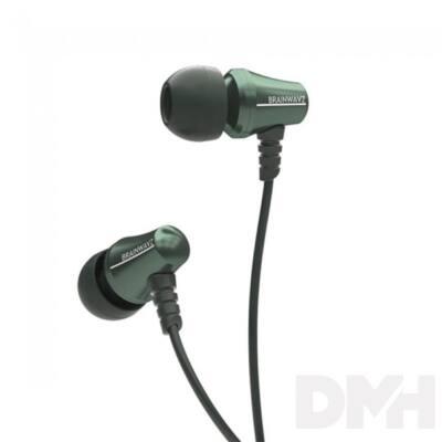 Brainwavz Jive In-Ear zöld fülhallgató headset