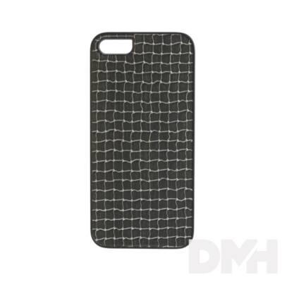 iKin K1115J iPhone 5/SE ezüst háló mintás fém tok