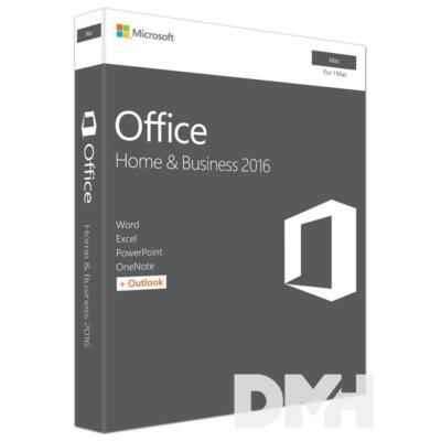Microsoft Office 2016 MAC Home & Business HUN 1 Felhasználó ML szoftver