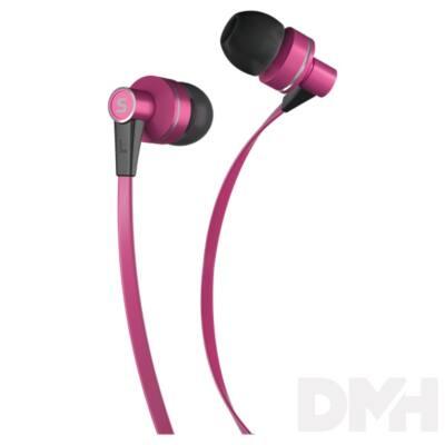 Sencor SEP 300 PINK rózsaszín mikrofonos fülhallható
