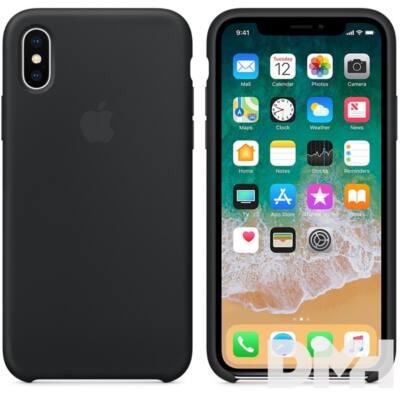 Apple iPhone X szilikontok fekete