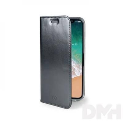 CELLY AIR900BK Celly Air Case iPhone X fekete oldalra nyíló flip tok