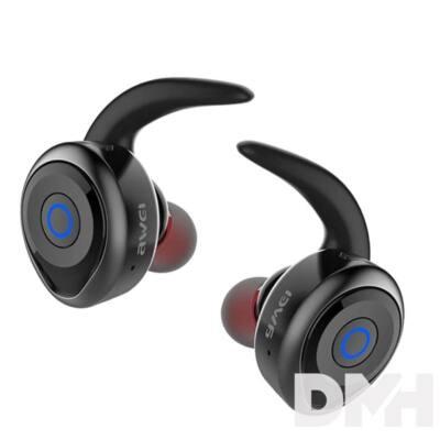 Awei T1 vezeték nélküli True Wireless Bluetooth fekete fülhallgató headset