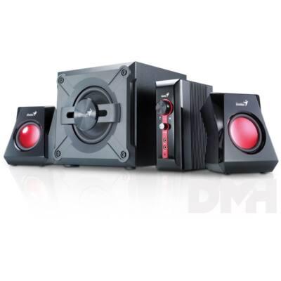 Genius SW-G2.1 1250 2.0 jack 36W fekete gamer hangszóró