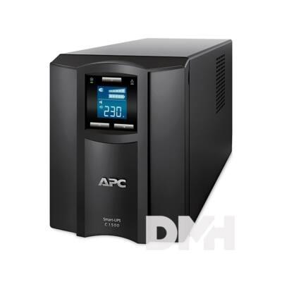 APC Smart-UPS C 1500VA LCD Smart Connect szünetmentes tápegység