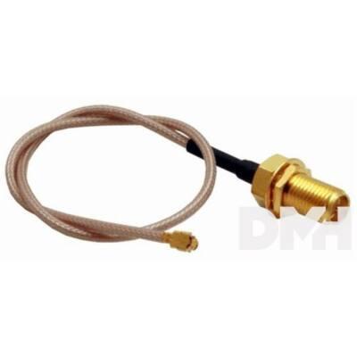 Pigtail kábel MMCX <-> RPSMA aljzat 15cm