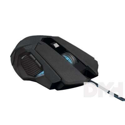 Trust GXT 158 Orna Laser fekete gamer egér