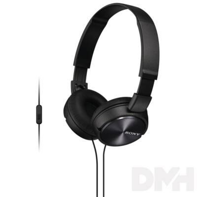 Sony MDRZX310APB.CE7 fekete mikrofonos fejhallgató