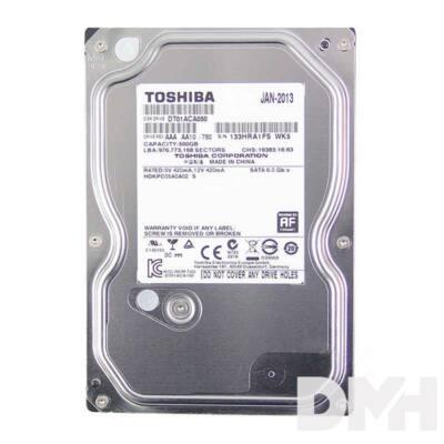 "Toshiba Desktop 3,5"" 500GB belső SATAIII 7200RPM 32MB winchester"