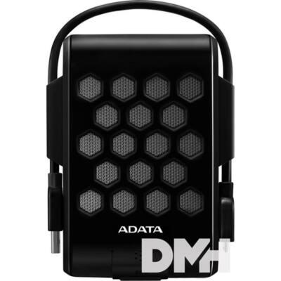 """ADATA AHD720 2,5"""" 2TB USB3.0 ütés és vízálló fekete külső winchester"""
