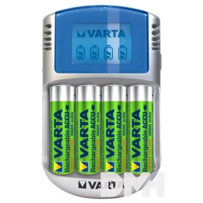 VARTA LCD Töltő + 4x2600mAh akku