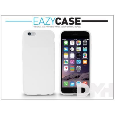Easycase DZ-412 iPhone 6 fehér szilikon hátlap