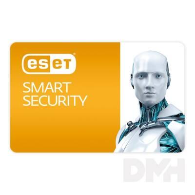 ESET Smart Security Home Edition hosszabbítás HUN 3 Felhasználó 2 év online vírusirtó szoftver
