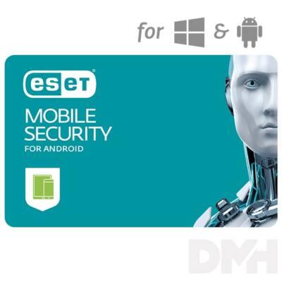 ESET Mobile Security for Android hosszabbítás HUN 2 Felhasználó 3 év online vírusirtó szoftver