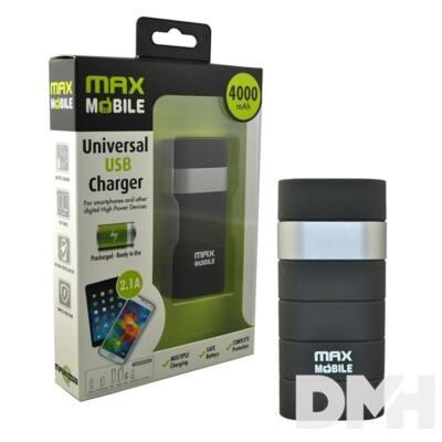 Max Mobile 4000mAh power bank