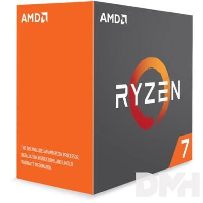 AMD Ryzen 7 1800X 3,60GHz Socket AM4 16MB (1800X) box processzor
