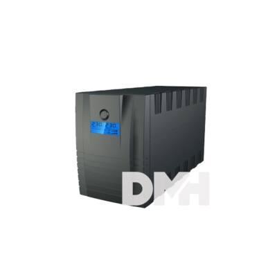 Centralion Aurora Vista 1200 DIN fekete szünetmentes tápegység
