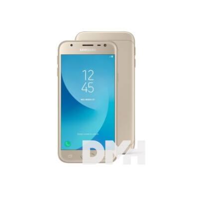 """Samsung Galaxy J3 SM-J330F 5"""" LTE 16GB Dual SIM arany okostelefon"""
