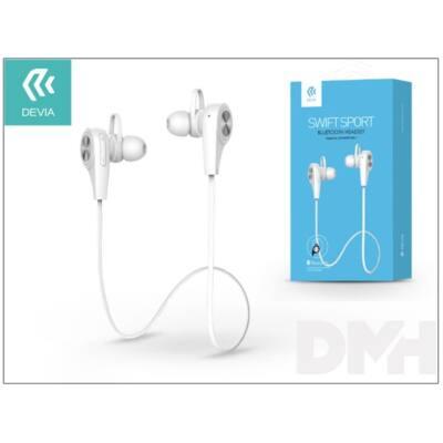 Devia ST991586 Swift Sport Bluetooth fehér headset