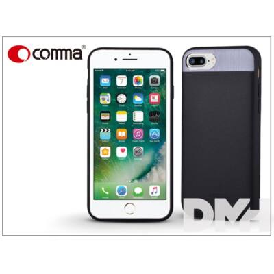 Comma ST985042 VIVID LEATHER iPhone 7/8+ fekete hátlap