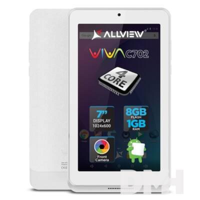 "Allview Viva C702 7"" 8GB Wi-Fi fehér tablet"
