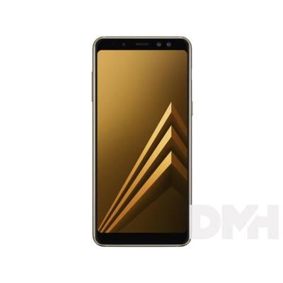 """Samsung Galaxy A8 SM-A530F 5,6"""" LTE 32GB Dual SIM arany okostelefon"""