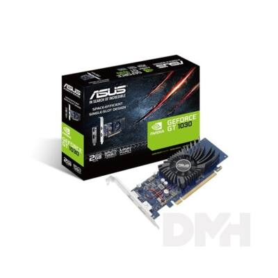 ASUS GT1030-2G-BRK nVidia 2GB GDDR5 64bit PCIe videokártya