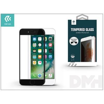 Devia ST993474 iPhone 7+ betekintés gátló fekete üveg képernyő + Crystal hátlapvédő fólia