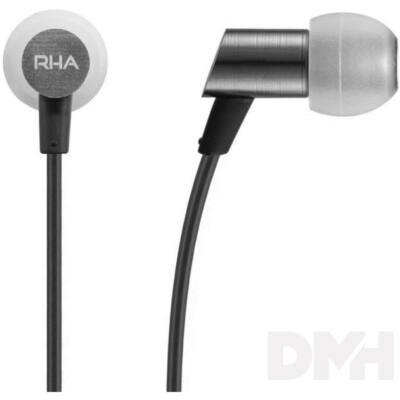 RHA S500 fekete fülhallgató headset