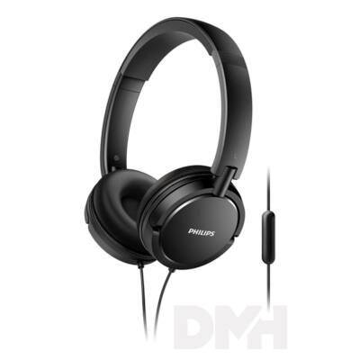 Philips SHL5005/00 fekete mikrofonos fejhallgató