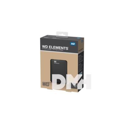 "Western Digital Elements Portable WDBUZG0010BBK 2,5"" 1TB USB3.0 fekete külső winchester"