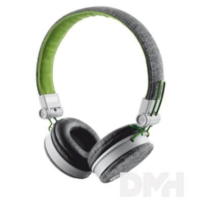 Urban Revolt Fyber jack szürke-zöld headset