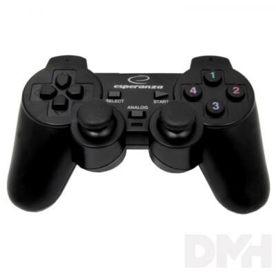 Esperanza EG106 PS2/PS3/PC vibrációs gamepad