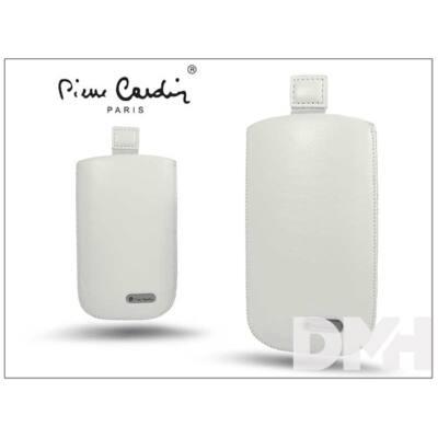 Pierre CardinH10-21W Samsung Mega 63 fehér slim tok